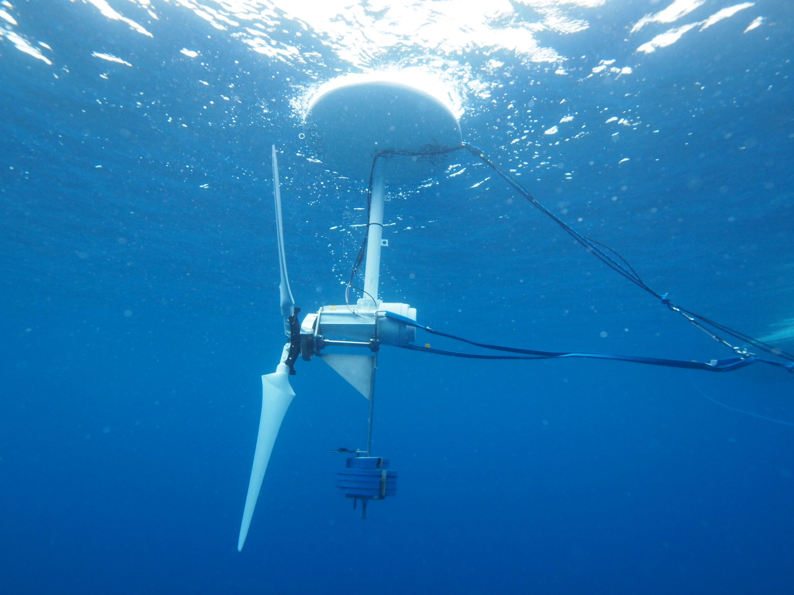 Ocean-Current Turbine Towing Experiment