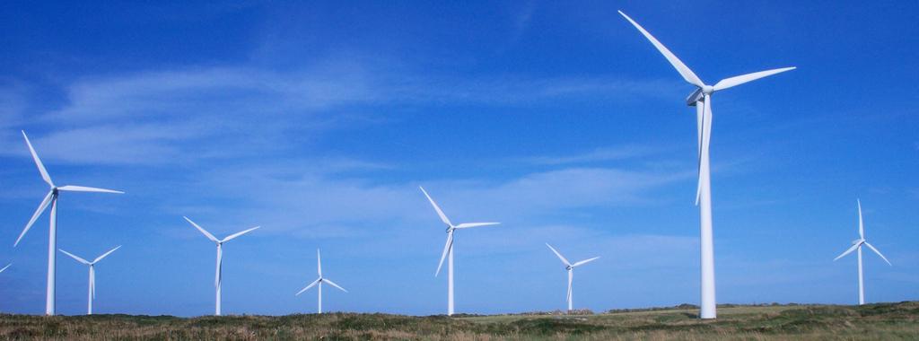 Wind turbines in Ireland