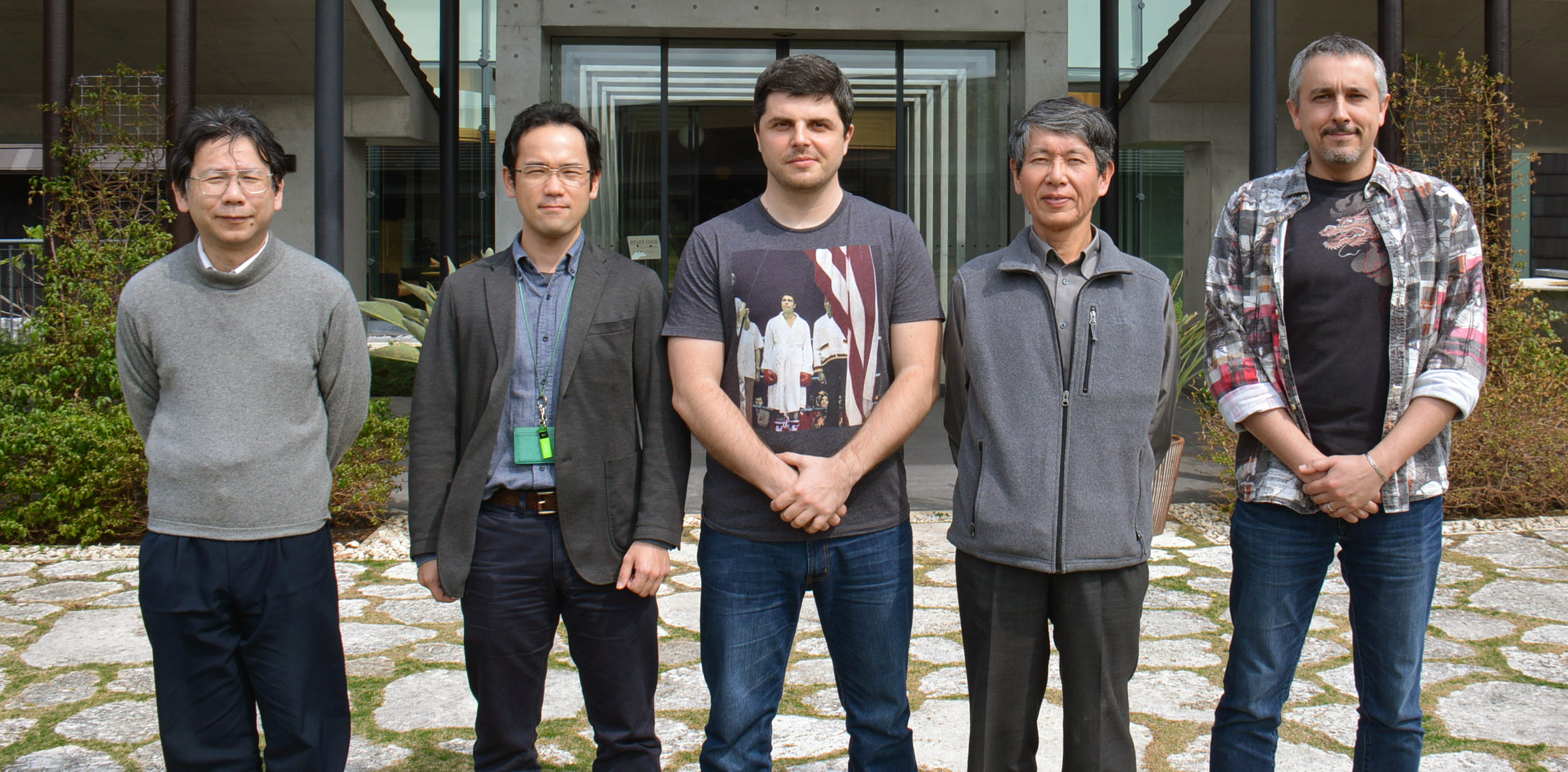 The OIST authors of the scientific paper