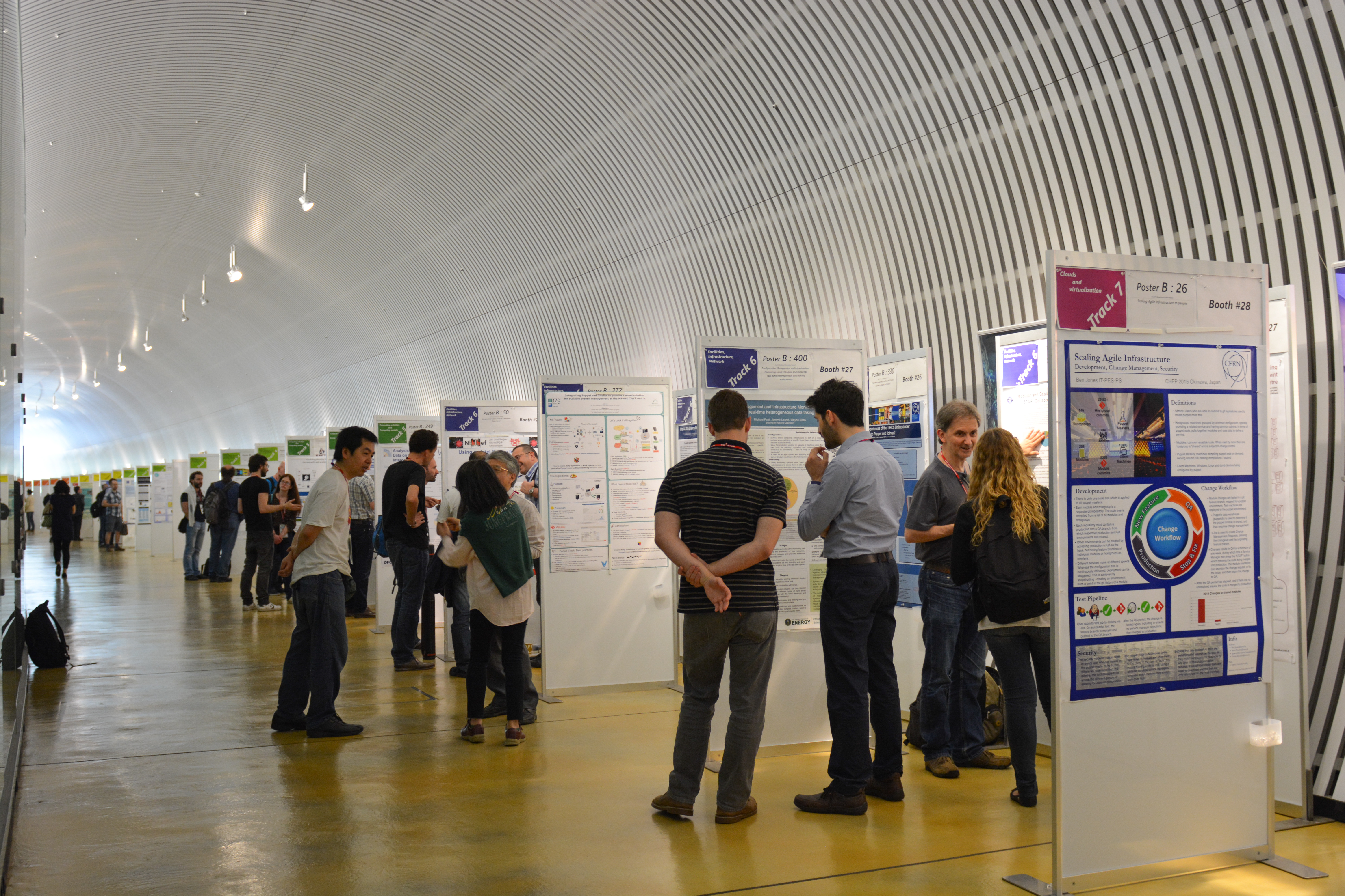 CHEP Poster Session