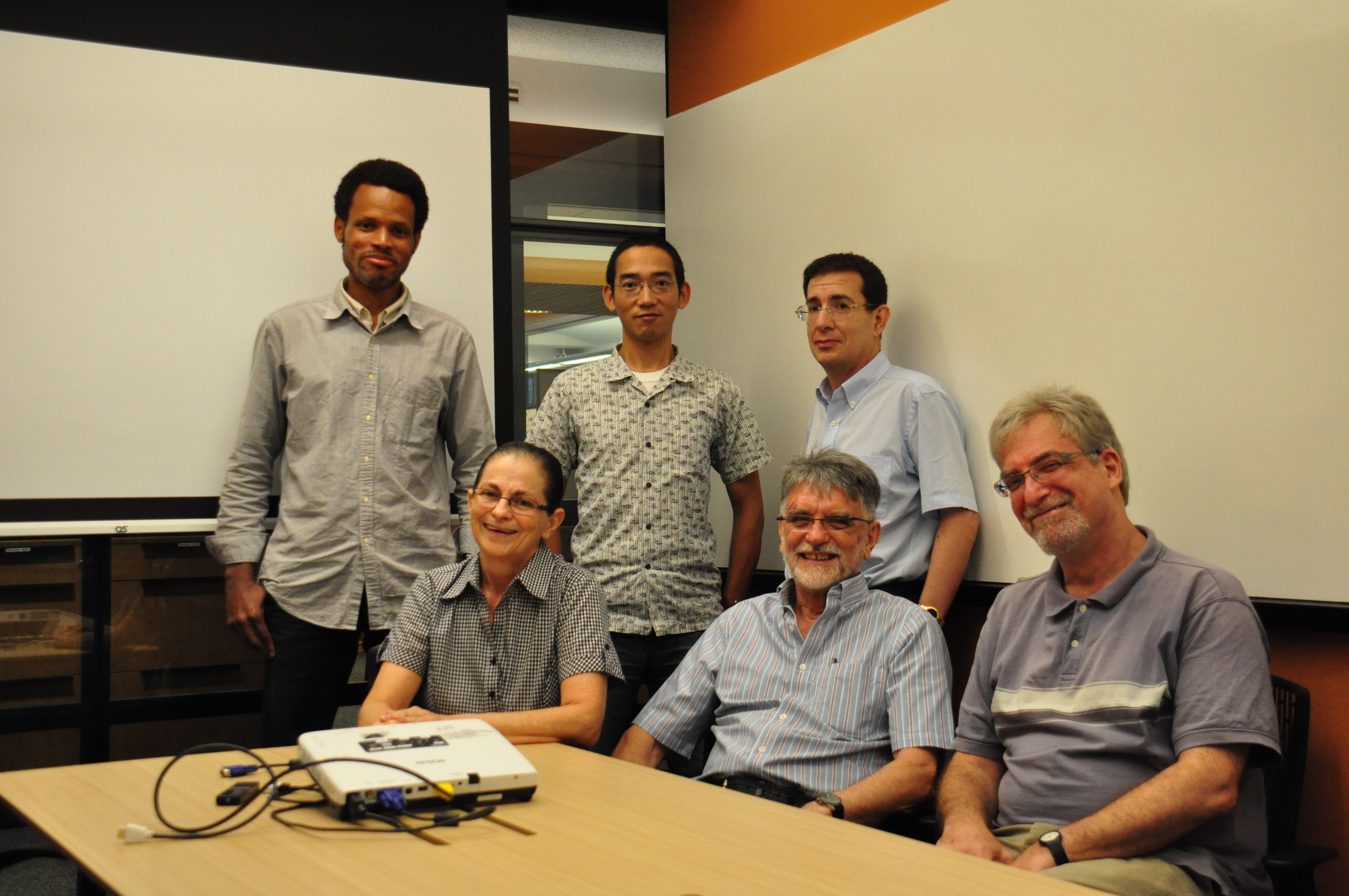 OIST researchers who recreated a working corticostriatal network in culture