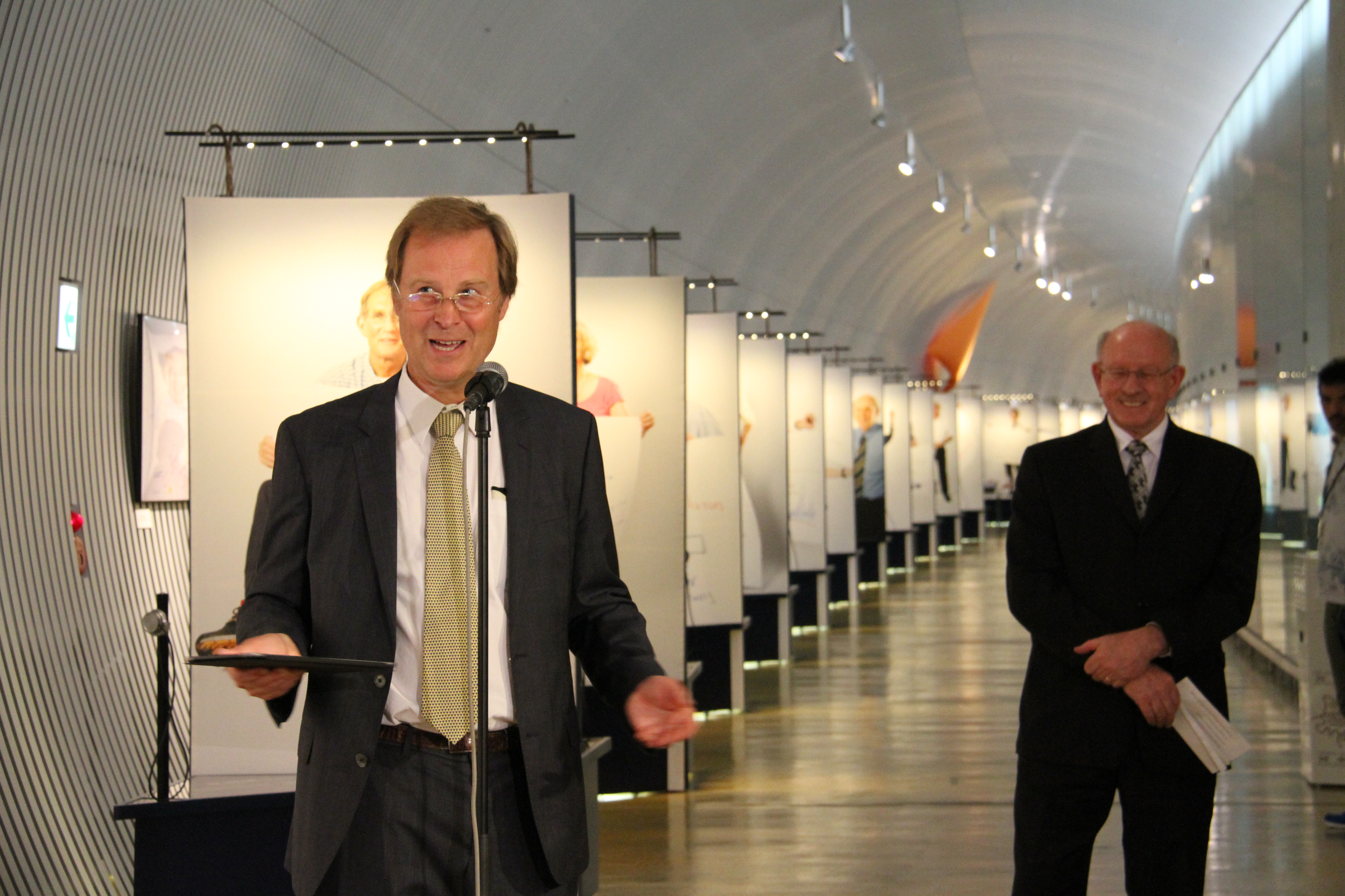 Director of the Nobel Museum Olov Amelin