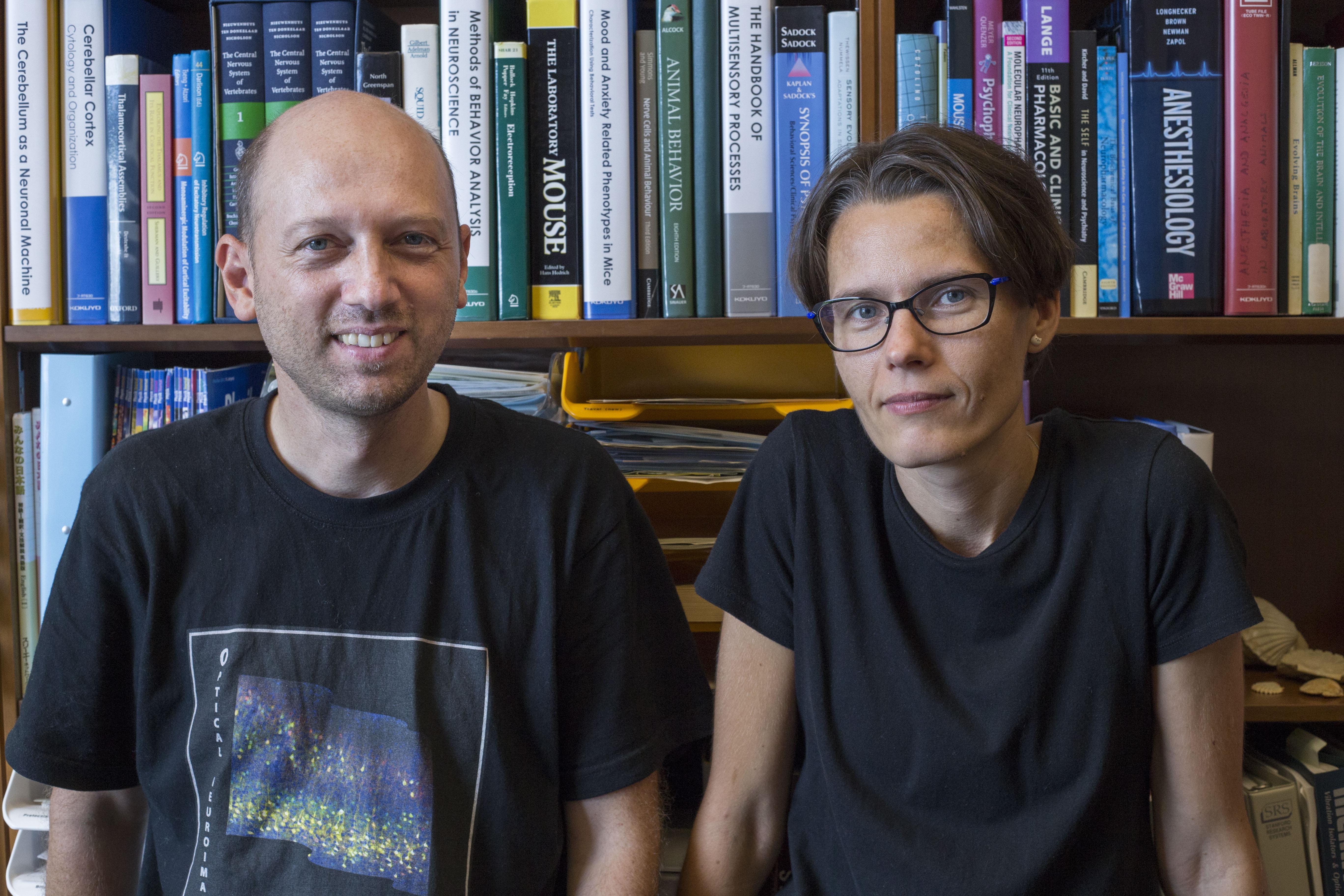ベアン・クン准教授とシギタ・オーガスティネイト研究員