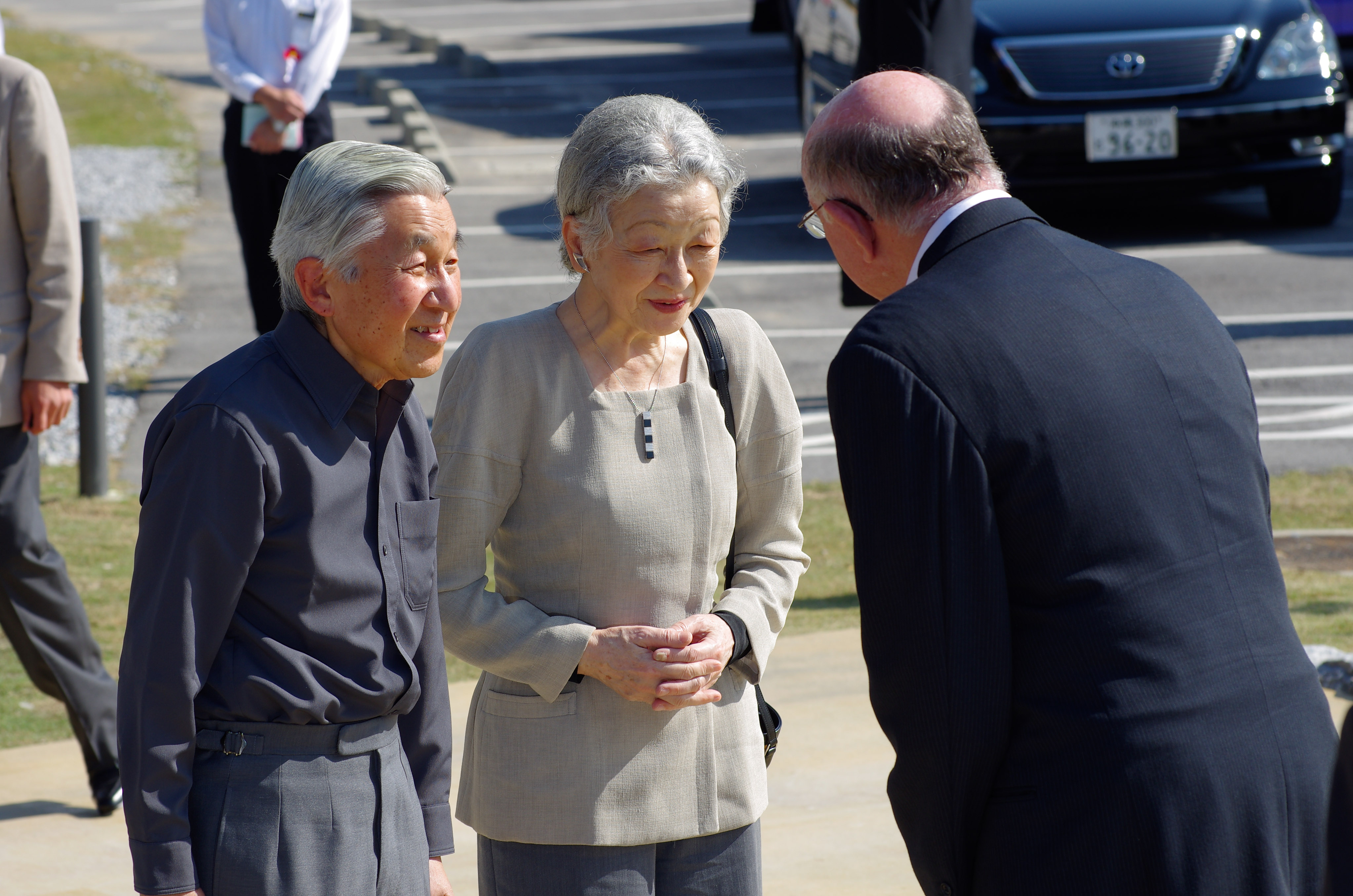 Imperial Couple Arrival