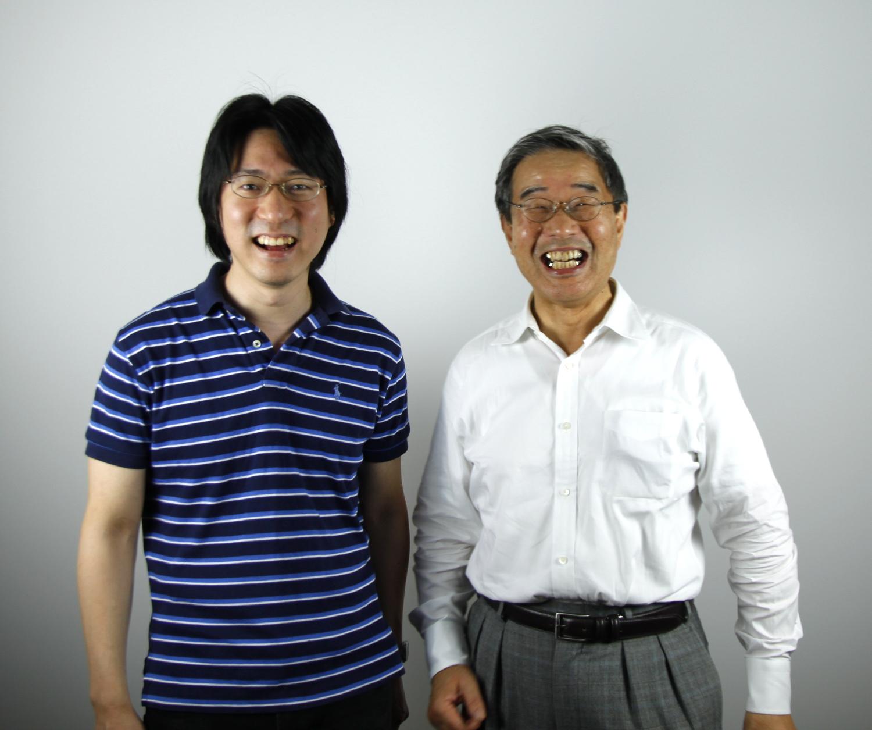 星名研究員と山本教授