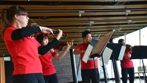 Music Performance at Teatime, 2015-12-17