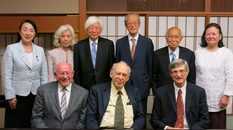 A Dinner was Held in Tokyo to Celebrate the Award