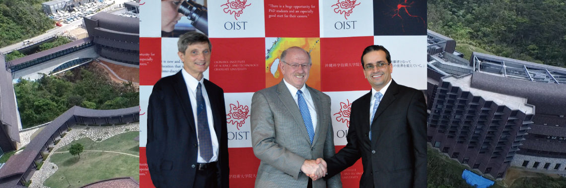 Donation from Saudi Aramco | Okinawa Institute of Science and