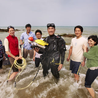 Using state-of-the art instruments to monitor marine ecosystems in Okinawan waters