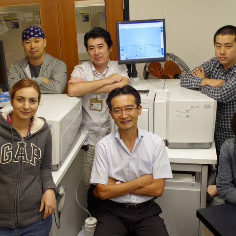 Members of the DNA Sequencing Section 2012