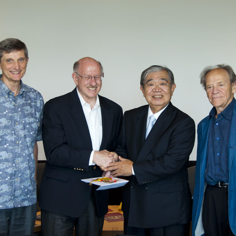 Donation from Mr. Chinen Kakazu, former Liberal Democratic Party (LDP) Lawmaker,
