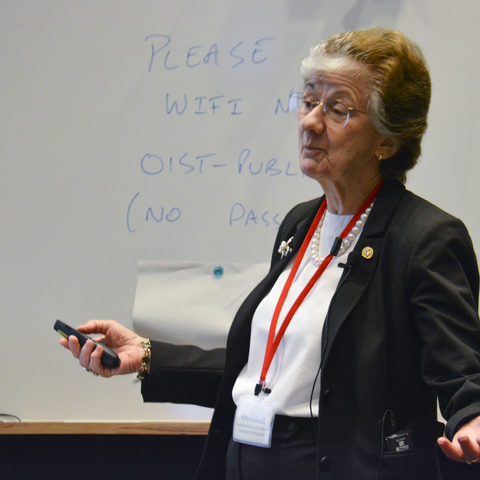 Dr. Rita Colwell, University of Maryland