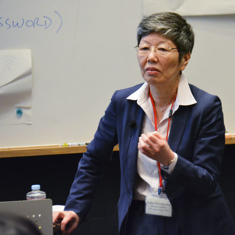 Dr. Harayama gave a keynote address in the Accelerating Innovation at Universities Symposium held at OIST.