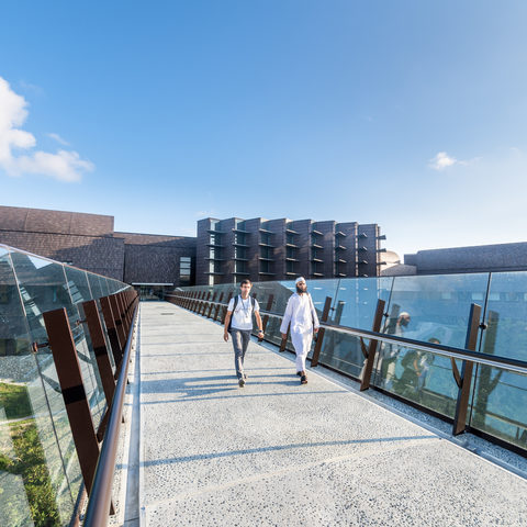 Skywalk to Laboratory 3