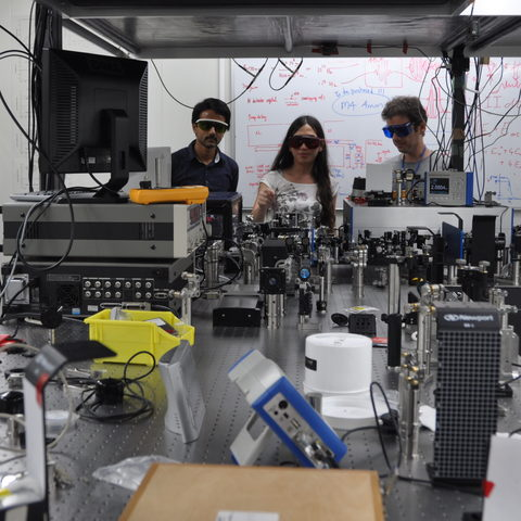 Femtosecond Spectroscopy Unit members