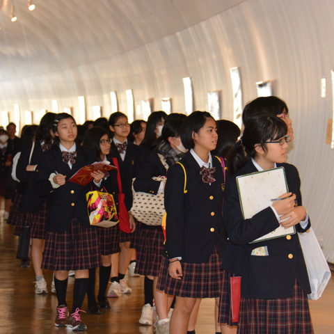 Showa Yakka Junior High School Students Dec 2013