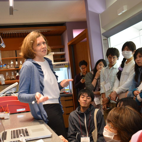 Dr. Kiseleva and Ryudai Students
