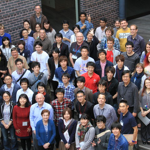 A group photo of the participants