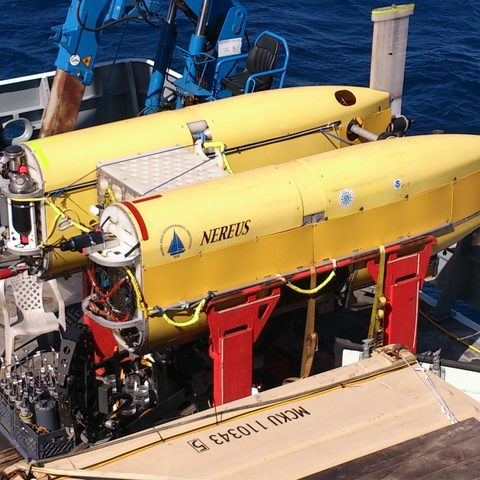 Nereus, the Robotic Deep Sea Diver