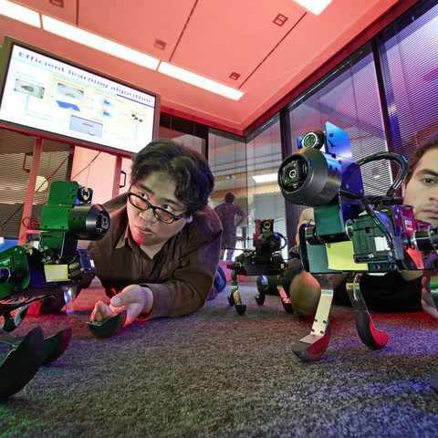 Setting up second-generation robots that learn from experience