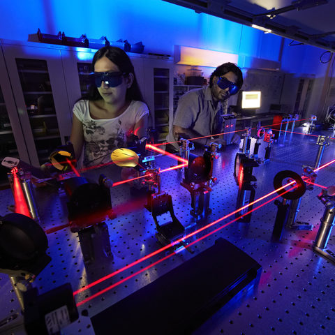Ultra-fast lasers are revealing the behaviors of electrons at the femtosecond timescale