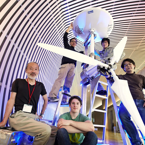 In the Sea Horse Project, OIST researchers are building 300 large propellers to generate 1GW of power from the Kuroshio Current
