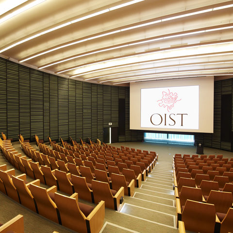 OIST Auditorium (Photo 2)
