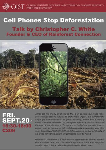 Cell Phones Stop Deforestation 20 Sept 2013