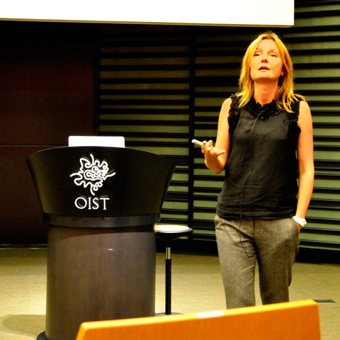 Nature Senior Editor Magdalena Skipper During Her Second OIST Colloquium