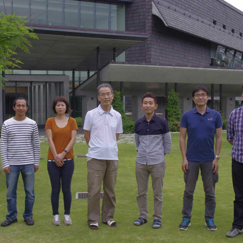 Researchers from OIST's G0 Cell Unit who published the paper