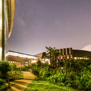 Stars over Campus Buildings