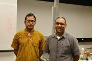 Researchers from OIST's Collective Interactions Unit who authored the paper