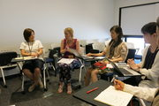A group discussion during the ISCW Summer School 2015